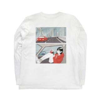 なかなか外れない Long sleeve T-shirts
