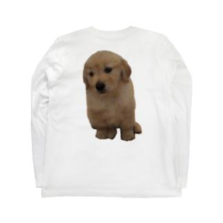ちびももグッズ Long sleeve T-shirts