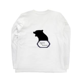 Intencity Of Barbarians ロングTシャツ Bear Long sleeve T-shirts