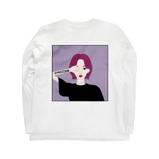 シニシズム Long sleeve T-shirts