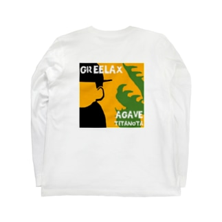 GREELAX コラボ パキポキ Long sleeve T-shirts