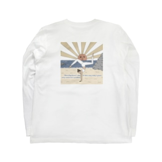 Peaceful Mind Tシャツ Long sleeve T-shirts