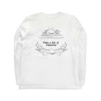 Luster sun / eagle beach Long sleeve T-shirts