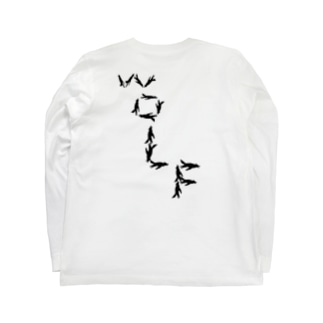 Intencity Of Barbarians ロングTシャツ Shadow Wolf later Long sleeve T-shirts