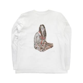 小原 泰彦のスマイル Long sleeve T-shirts