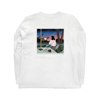 見たことのない夢の絵 Long sleeve T-shirts