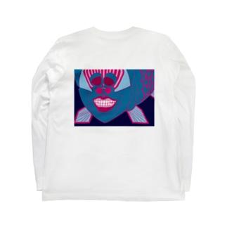 NEoデメニギスくん Long sleeve T-shirts