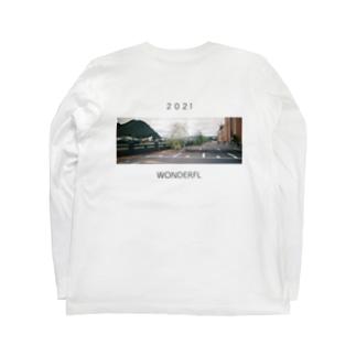 2021の願い Long sleeve T-shirts