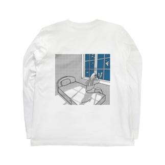 お魚ハウス Long sleeve T-shirts