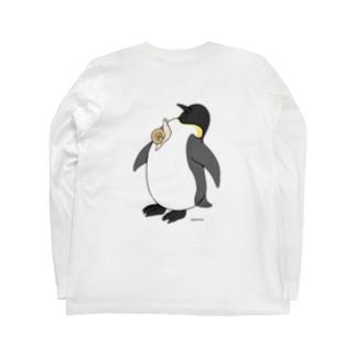 【背面プリント】カタツムリとペントロー Long sleeve T-shirts