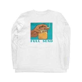 酒とタバコ Long sleeve T-shirts