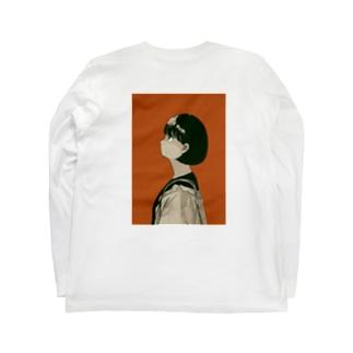 ボブの女の子 Long sleeve T-shirts