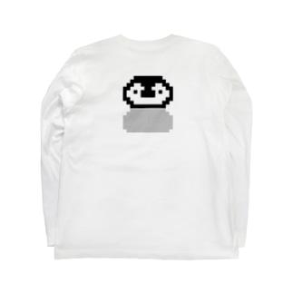 ドットのひなちゃん Long sleeve T-shirts