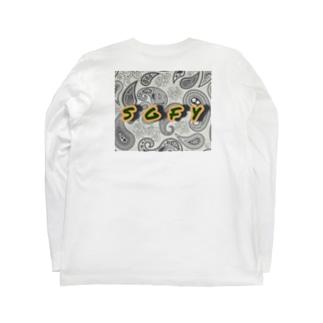 ガラガラ Long sleeve T-shirts