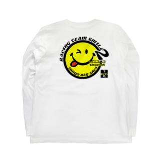 RacingTeam ニコニコ Long sleeve T-shirts