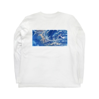 『YES!!!Wi-Fiくん』 ×『MONSOON』バックプリントロンT Long sleeve T-shirts