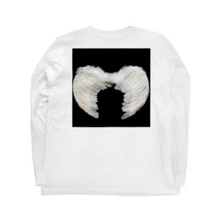 羽根 Long sleeve T-shirts