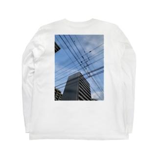 ひもとつき Long sleeve T-shirts