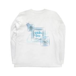 きらきらひんやり Long sleeve T-shirts