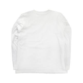 蠢めく文字だけ【数量限定】 Long sleeve T-shirts