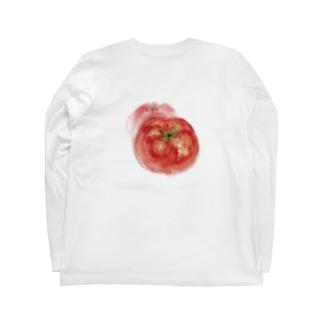 ベジタブルT(トマト) Long sleeve T-shirts