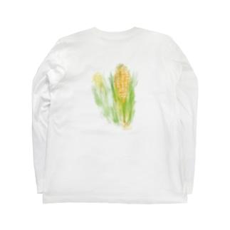 ベジタブルT(トウモロコシ) Long sleeve T-shirts