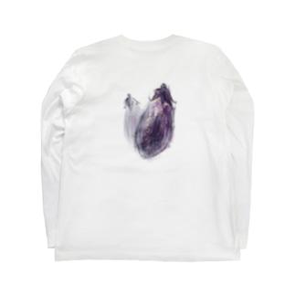 ベジタブルT(ナス) Long sleeve T-shirts