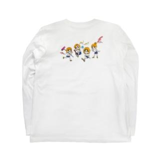 BOOがいっぱい ロンT Long sleeve T-shirts