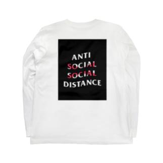 Anti social social distance  Long sleeve T-shirts