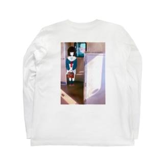 帰りの電車。 Long sleeve T-shirts