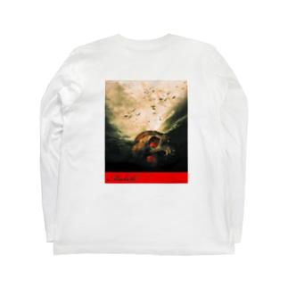 マクベス前面ロゴ背面デザイン(Macbeth) Long sleeve T-shirts