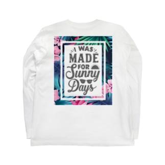 夏用 Long Sleeve T-Shirt