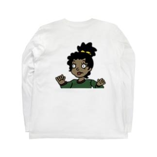 ジャニちゃん Long sleeve T-shirts