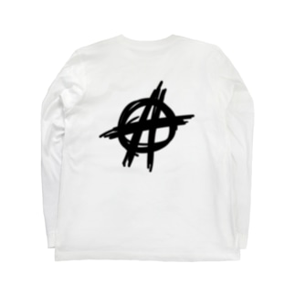 🔨ANARCHY🔨 ブラック Long Sleeve T-Shirt