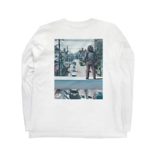 PARIS on the City!×コサカダイキ「愛の爆心地」 Long Sleeve T-Shirt