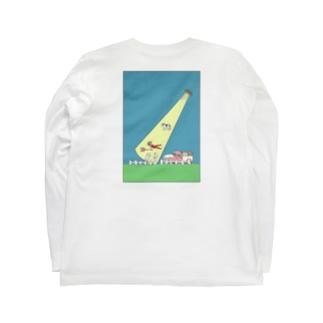 キャトルミューティレーション Long Sleeve T-Shirt