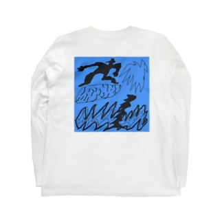 surfing boy Long sleeve T-shirts