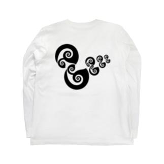 アヒルの親子 Long Sleeve T-Shirt