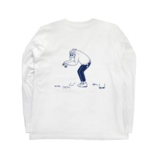 メガネ-メガネ Long sleeve T-shirts