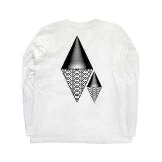 吉原柄 α Long Sleeve T-Shirt
