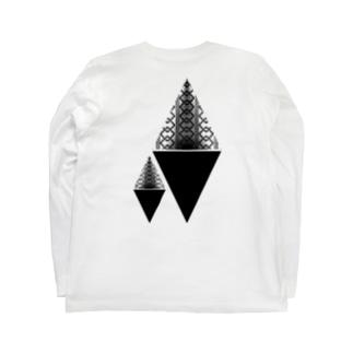吉原柄 β Long Sleeve T-Shirt
