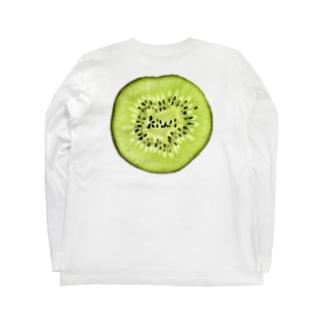 ※背面印刷ver キウイ~kiwi~ Long Sleeve T-Shirt