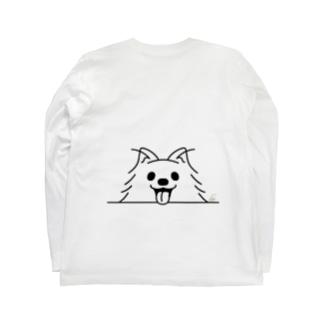 BK*ポメラニアンがでかっ! Long Sleeve T-Shirt