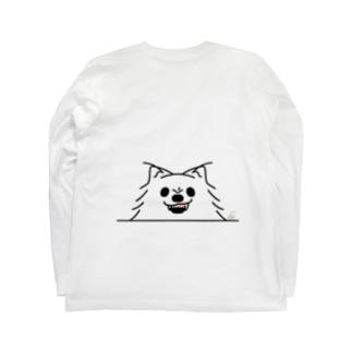 BK*ポメラニアンがでかっ!*しかも怒っ! Long Sleeve T-Shirt