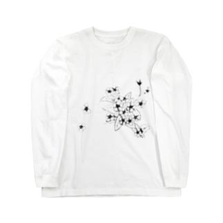 らっとぅヤマルリソウ② Long sleeve T-shirts