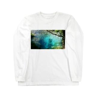 syri i kaltër(シリカルタ) Long sleeve T-shirts
