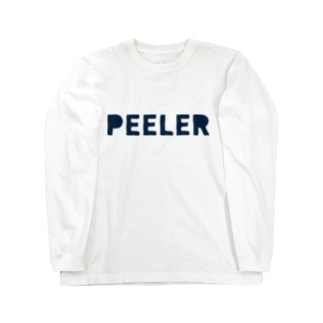 PEELER - 04(Navy) Long sleeve T-shirts