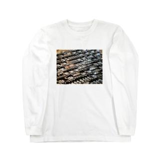 王宮のスクリプト Long sleeve T-shirts