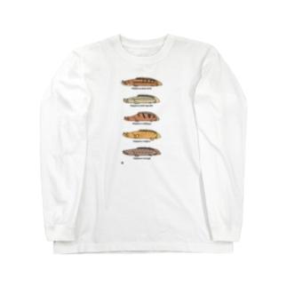 プチプチポリプ(下の巻) Long sleeve T-shirts