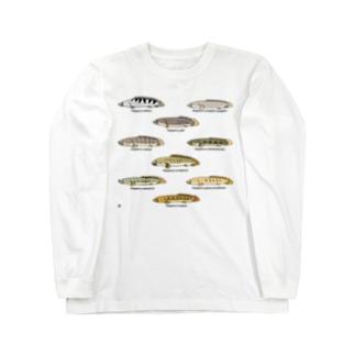 プチプチポリプ(上の巻) Long sleeve T-shirts